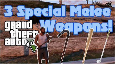 Special Melee Weapons Locations