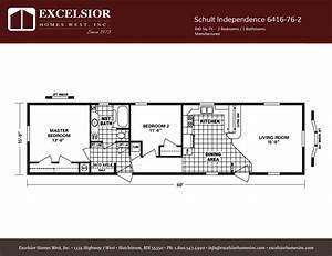 Schult Independence 76-2 Singlewide Excelsior Homes West