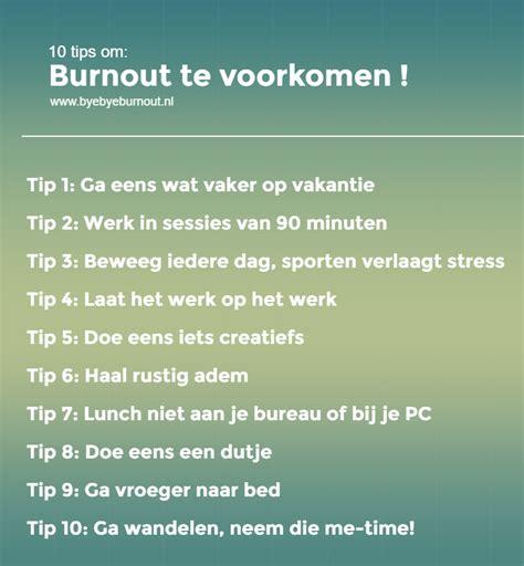 Burn-out klachten - stress en Burn-out coaching in Nederland