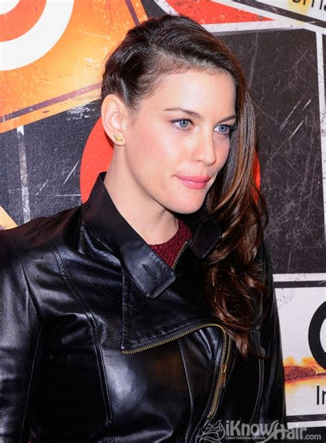 head shave liv tyler side braid hairstyle braided