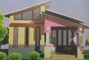 Small home design tropical comfortable habitation