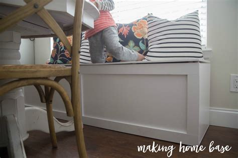 build  window seat  storage diy tutorial