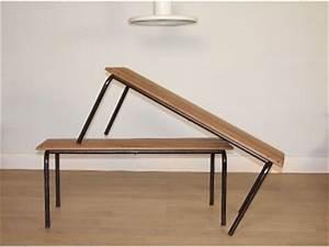 Banc Ecolier Vintage : asseoir ~ Teatrodelosmanantiales.com Idées de Décoration