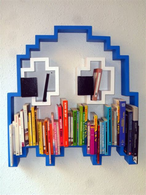 3d Pac Man Ghost Shaped Shelf All Of Our Pieces Are Built