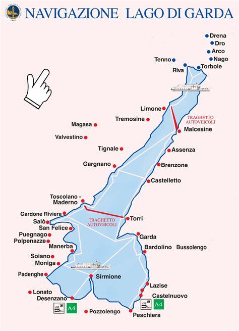 lake garda ferry map  train  vicenza  peschiera