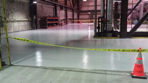 repaint turbine deck floor  jp madgett power plant