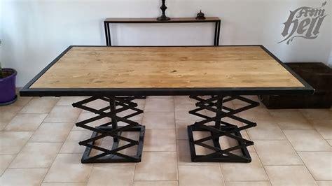 table cuisine industrielle table de cuisine ancienne 9 table salle 224 manger