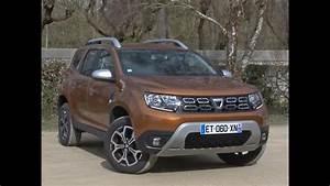 Dacia Duster 2018 Boite Automatique : essai dacia duster 1 5 dci 110 prestige 2018 youtube ~ Gottalentnigeria.com Avis de Voitures