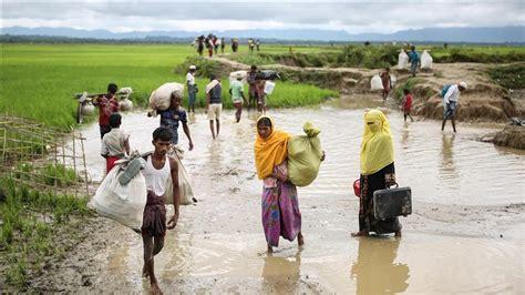 bureau de coordination des affaires humanitaires onu 370 mille musulmans rohingyas ont fui arakan vers le