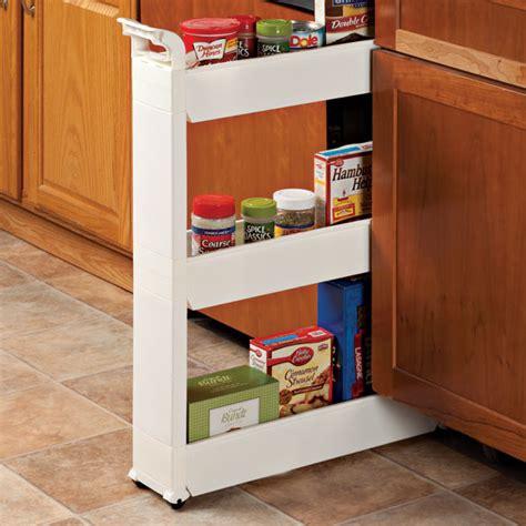 Slim Storage Cart  Rolling Cart  Storage Carts  Walter