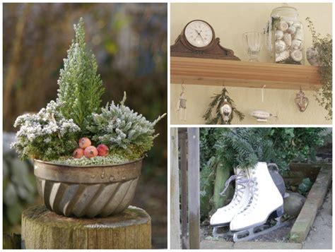 Weihnachtsdeko Im Garten by Weihnachten In Haus Und Garten Ideen Und Dekorationstipps