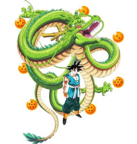 Dragon Ball Z Goku Wallpaper 7 Dragon Balls Shenron Ultimate Goku By Ajckh2 On Deviantart
