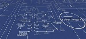 Intricate Blueprint Maps The History Of Electronic Music