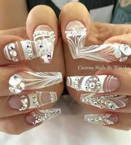Oltre idee su disegni unghie strass