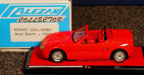 minari road sport  alfa romeo model car