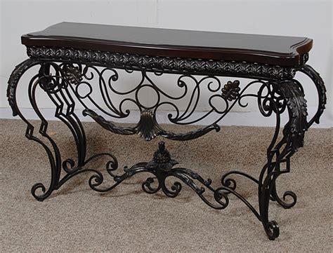 wrought iron sofa table sofa table design wrought iron sofa table astonishing