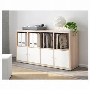 Ikea Kallax Zubehör : kallax shelving unit white stained oak effect 77 x 147 cm ikea ~ Markanthonyermac.com Haus und Dekorationen