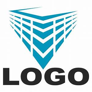 Vector for free use: Logo construction company