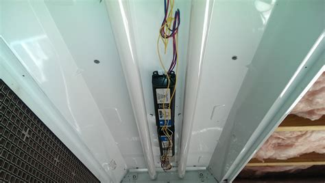 how to replace fluorescent light ballast fluorescent ballast replacement did it myself