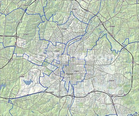 raleigh nc zip codes wake county nc zip code map