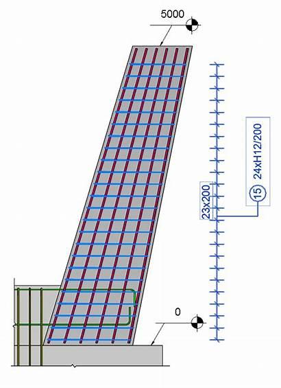 Column Slanted Rebar Place Revit Autodesk Stirrups