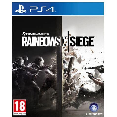 siege ps tom clancy 39 s rainbow six siege playstation 4 ps4
