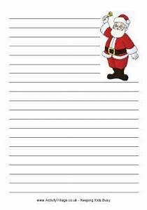 printable christmas themed lined writing paper winter With christmas letter paper with lines