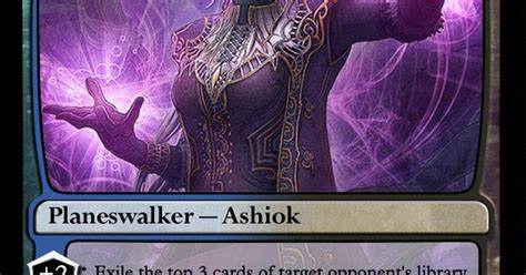 ashiok nightmare weaver deck ashiok nightmare weaver magic the gathering