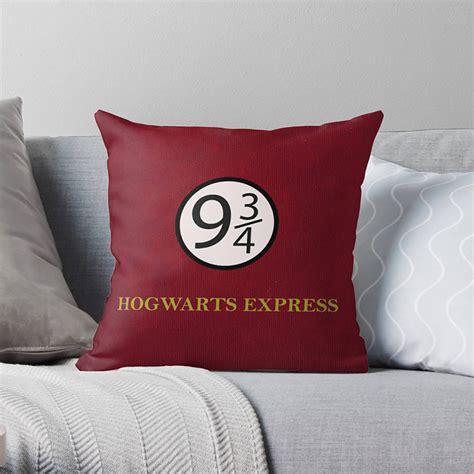 harry potter pillow harry potter pillow harry potter decor hogwarts gift