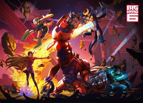Big Hero 6 HD Wallpaper Background Image 1920x1385