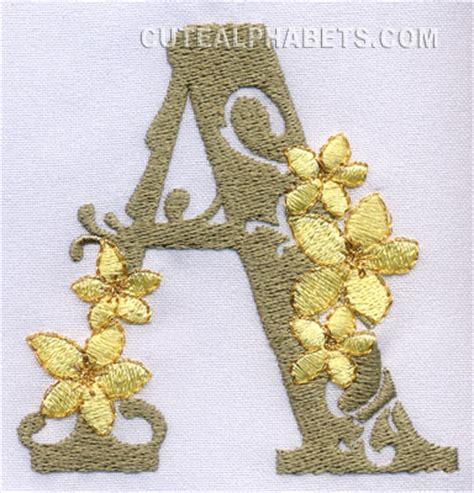 letter  cute alphabets embroidery fonts