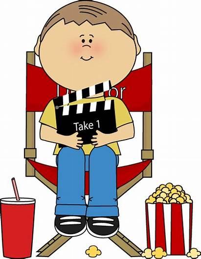Directors Director Clipart Clip Chair Clapperboard Graphics
