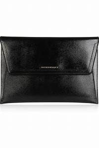 burberry textured patent leather document holder net a With burberry document holder