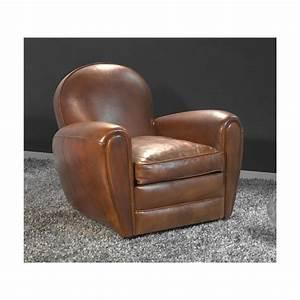 fauteuil club en cuir fauteuil club en cuir effet vintage With fauteuil club cuir center
