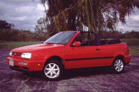 volkswagen convertible cabrio 1995 02 volkswagen cabrio consumer guide auto