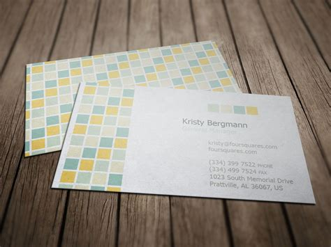 Cards Templates by Four Tiles Service Business Card Business Card Templates