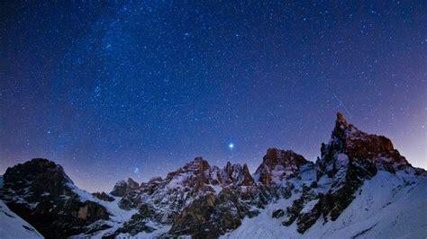 4k Night Sky Wallpaper