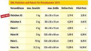 Dhl Xxl Paket : portoerh hung bei der dhl f r 2015 computer bild ~ Orissabook.com Haus und Dekorationen