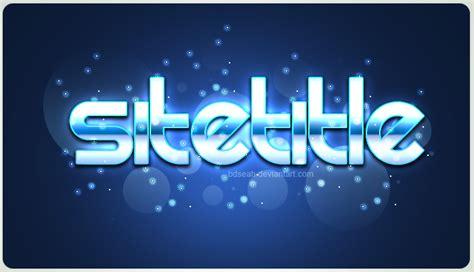 logo style psd by bdseah on deviantart
