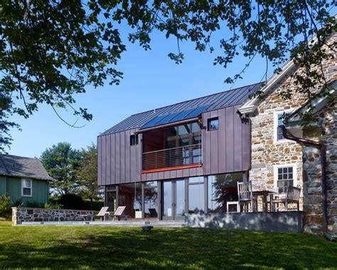 Modern Addition For 18th Century Farmhouse By Wyant