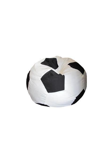 pouf ballon de foot pouf fa 231 on ballon de foot noir blanc homemaison vente en ligne bigs coussins microbilles