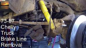 1973-1987 Chevy Truck - How-to Remove Front Brake Hoses And A Look At Ord U0026 39 S Extended Lines