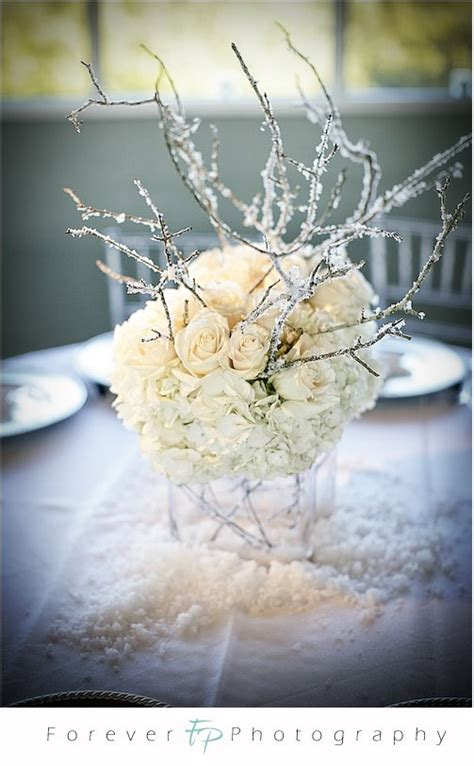 winter branch centerpieces wedding accessories ideas