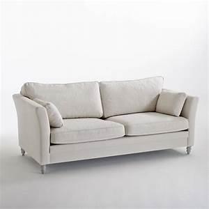 canape fixe 2 ou 3 places nottingham la redoute With tapis ethnique avec canapé 2 ou 3 places