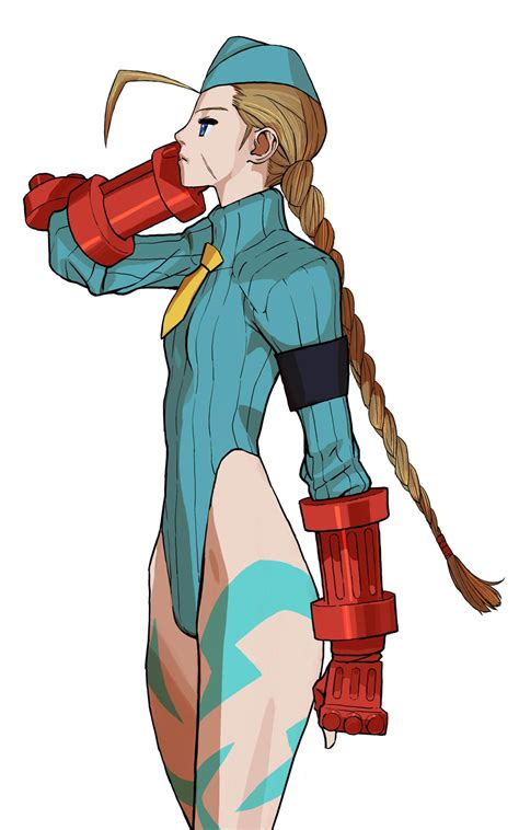 Cammy artwork #3, Street Fighter Alpha: High resolution