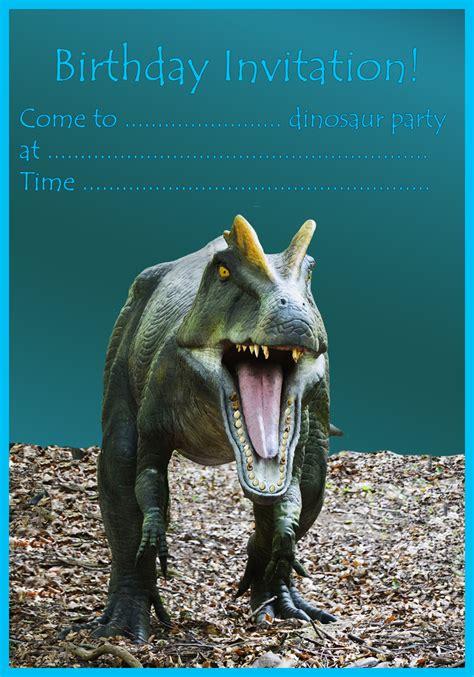 dinosaur birthday invitations birthday party ideas  kids