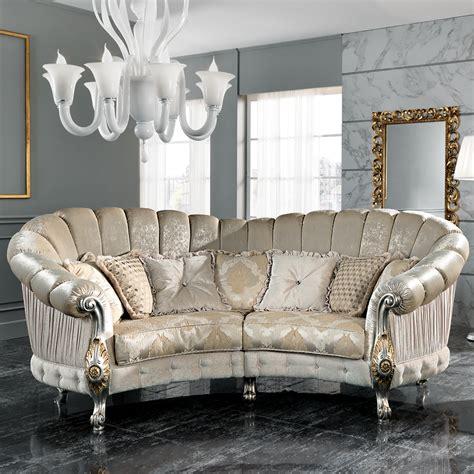 italian sectional sofas online italian designer four seater curved sofa
