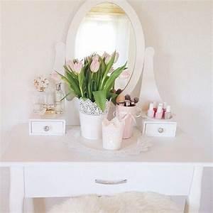 Schminktisch Deko Ideen : rachael878 home pinterest schminktische ikea schminktisch und ikea deko ~ Markanthonyermac.com Haus und Dekorationen