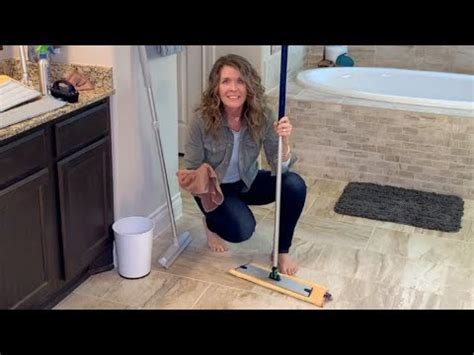 norwex mop  action youtube