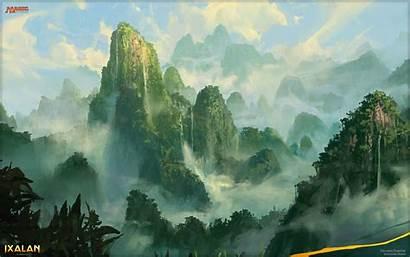 Mtg Magic Gathering Unclaimed Landscape Territory Land